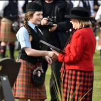 Oban High School Pipe Band